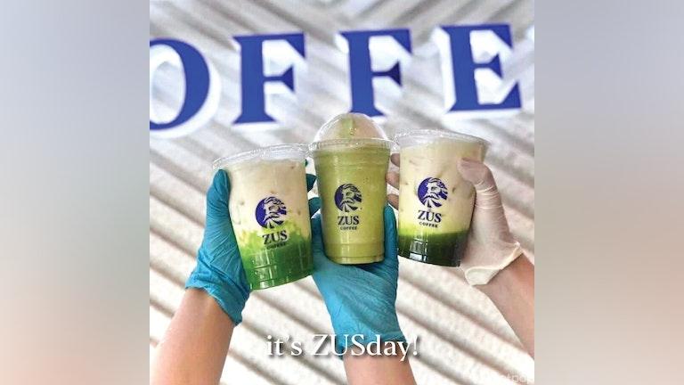 Buy 3 Pandan Drinks Get 1 FREE at ZUS Coffee