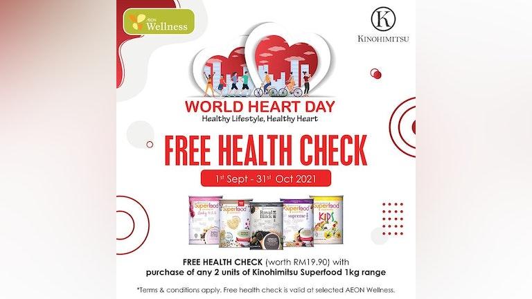 Kinohimitsu World Heart Day Promo