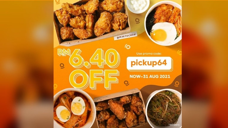 RM6.40 Off for Pick Ups at KyoChon