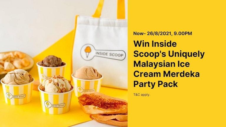 Inside Scoop Merdeka Pack Giveaway