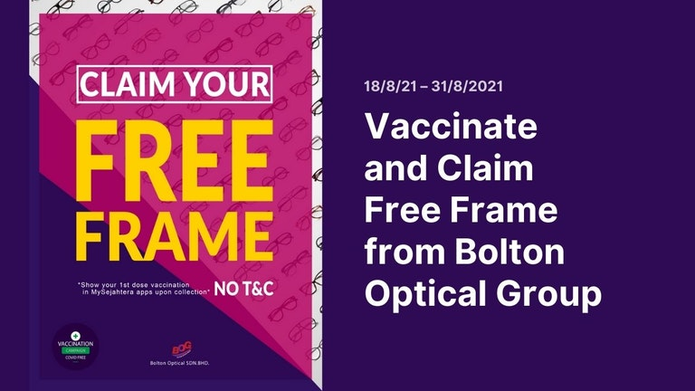 Free Frame for the Vaccinated Campaign