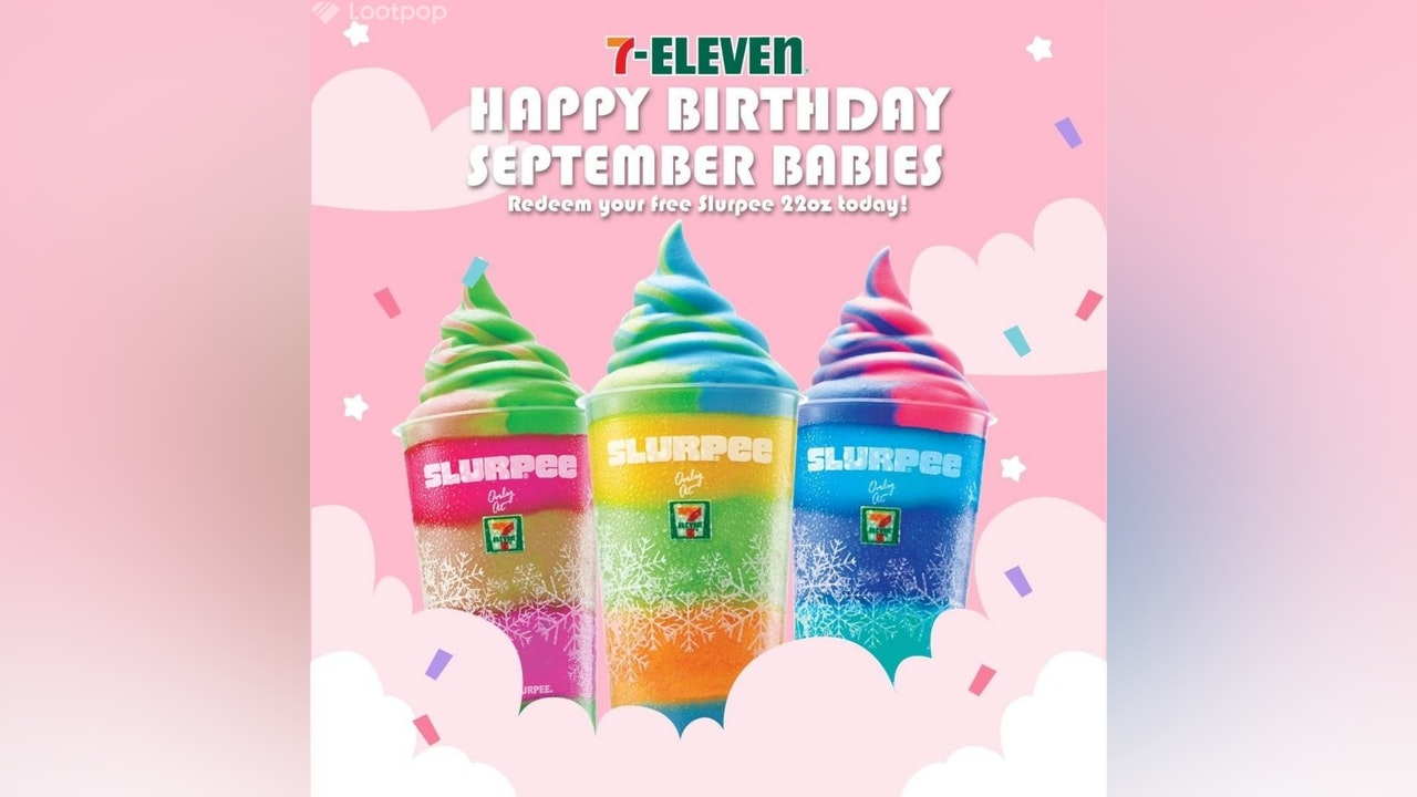 Birthday Gift for September Babies from 7-Eleven Malaysia