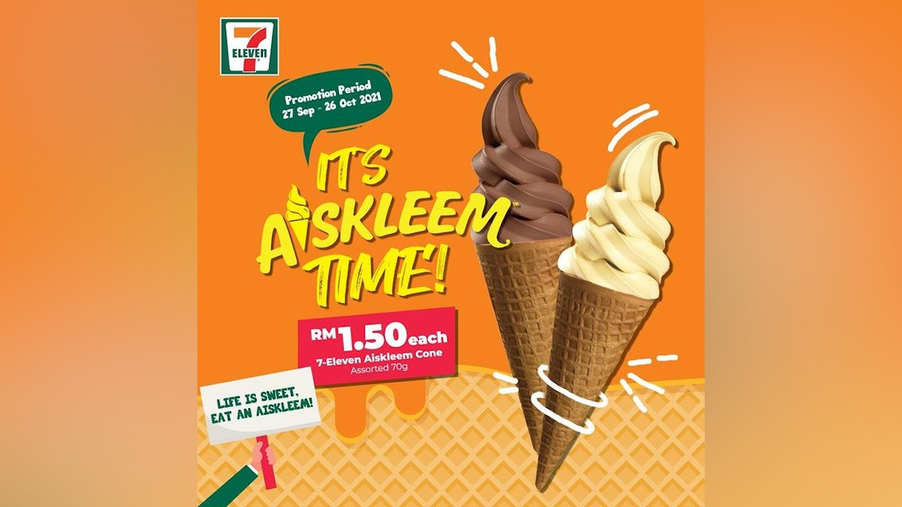 It's Aiskleem Time at 7-Eleven!