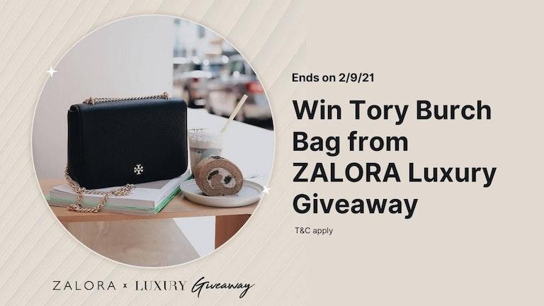 Tory Burch Bag Giveaway by ZALORA Malaysia