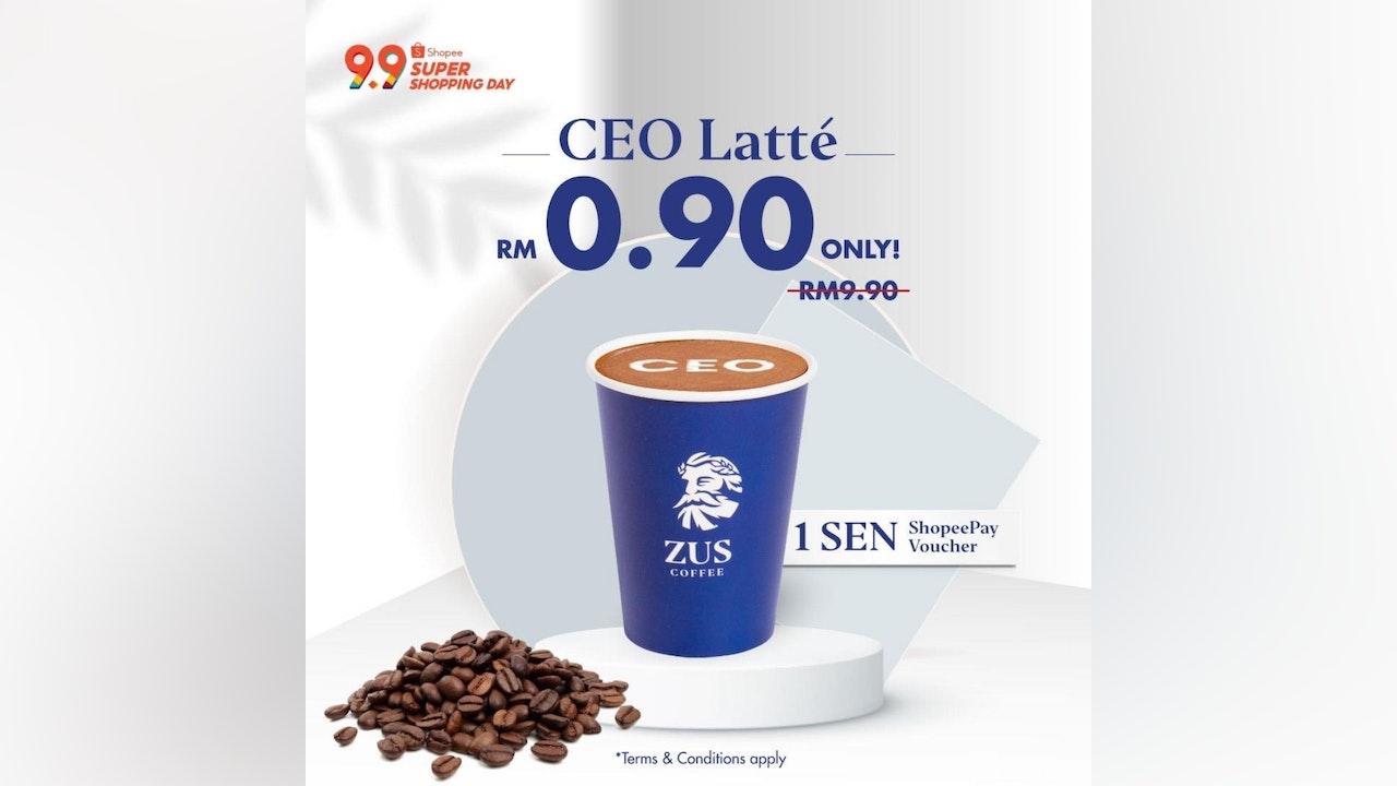 ZUS Coffee's RM0.90 CEO Latté Deals