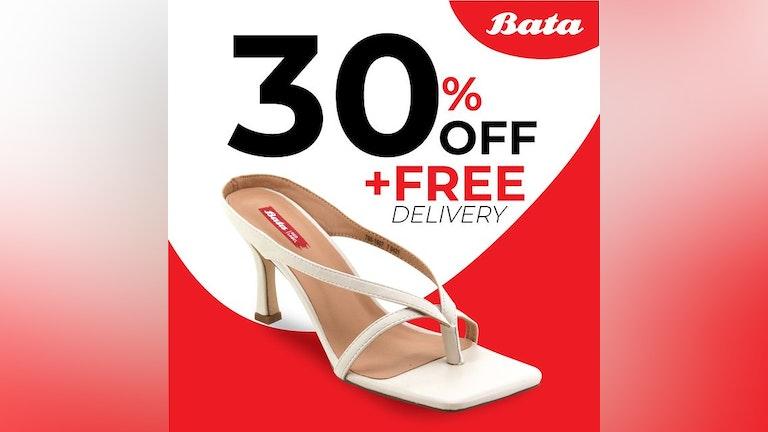 Bata Online Storewide 30% Off