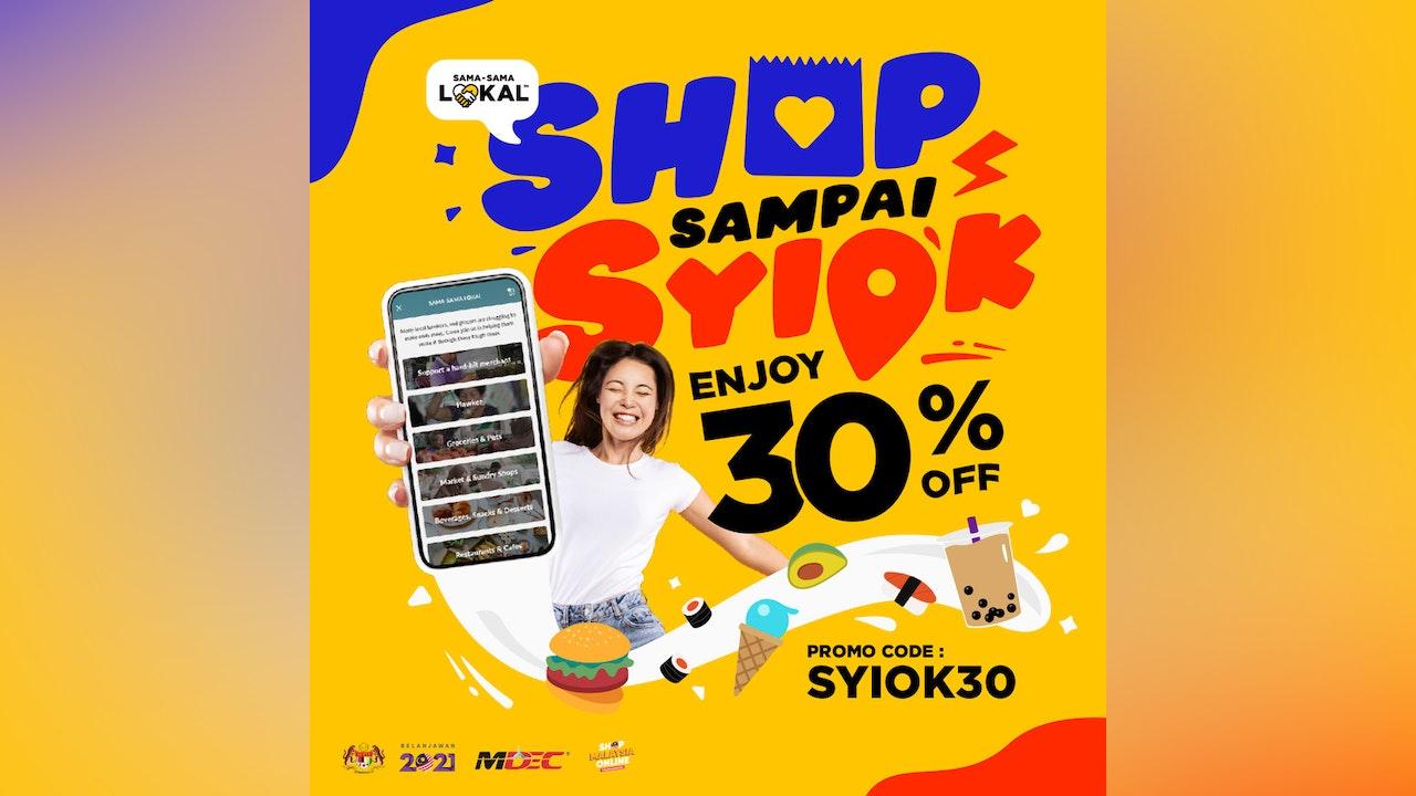 Shop Sampai Syiok with Maybank Sama-Sama Lokal