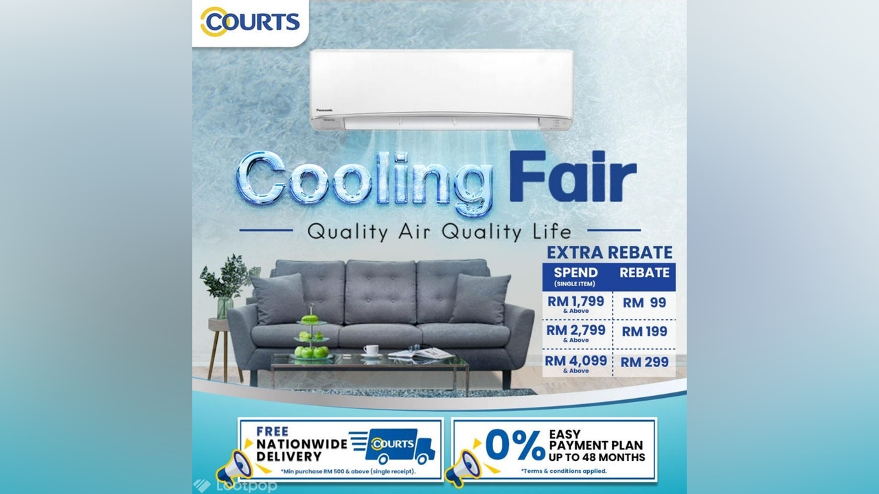 COURTS Cooling Fair
