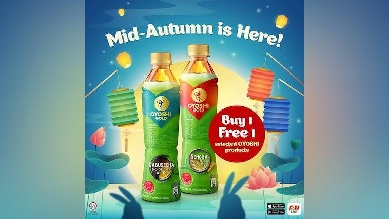 F&N OYOSHI Buy 1 Free 1 Mid Autumn Festival Deal