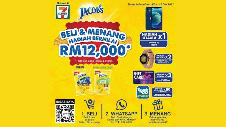 Peraduan Beli & Menang Jacob's x 7-Eleven