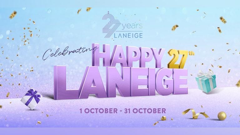 Laneige 27th Brand Anniversary Celebration