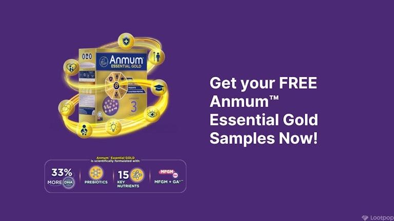 Free Anmum™ Essential Gold Samples