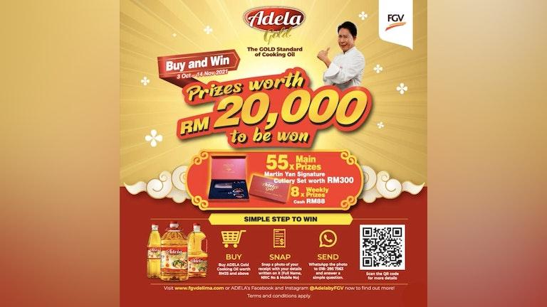 Adela Buy & Win Contest