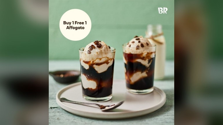 Buy 2 Affogatos with the Price of 1 at Baskin-Robbins