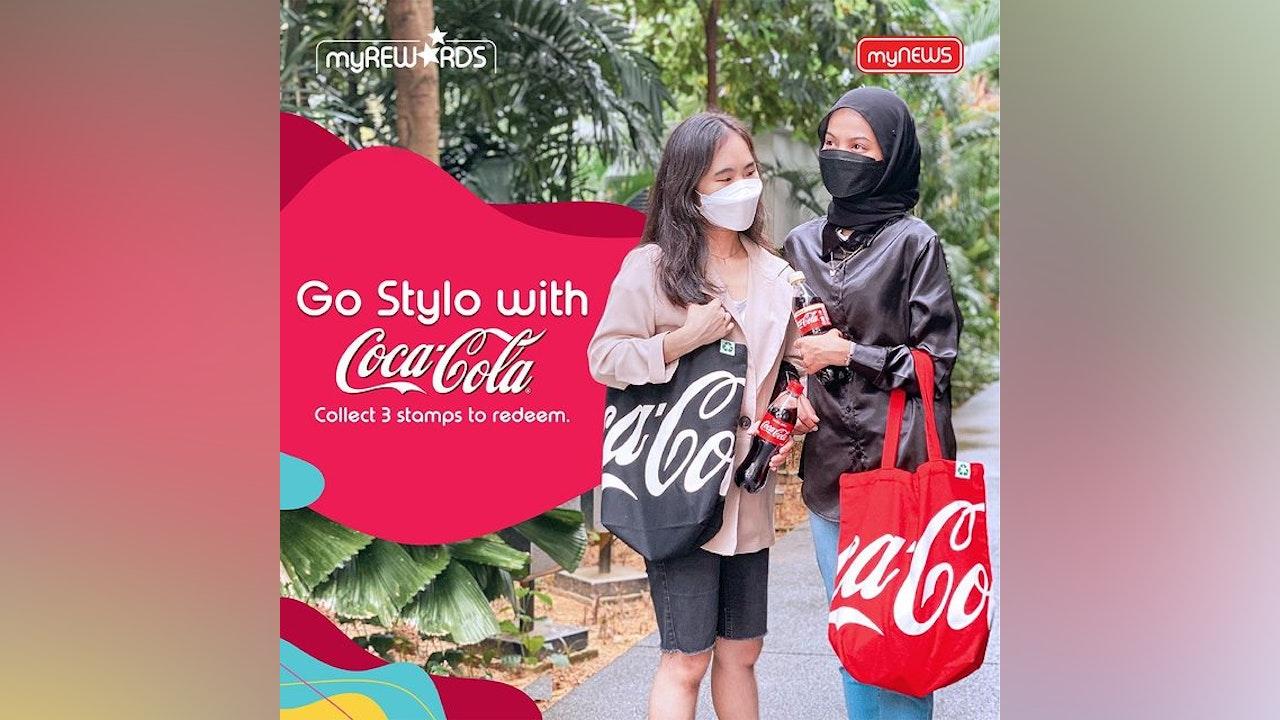Free Coca-Cola Tote Bag at myNEWS