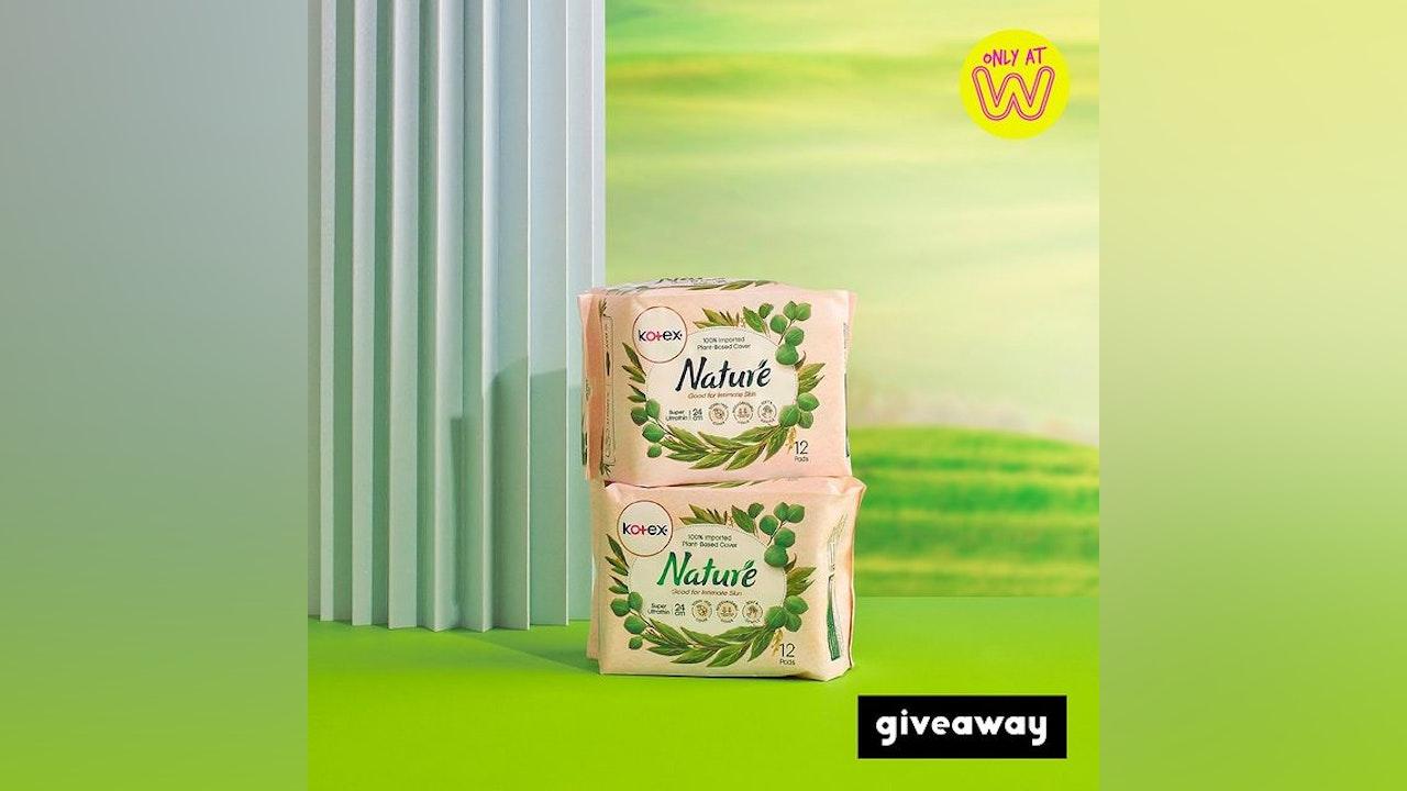 Kotex Nature Giveaway by Watsons