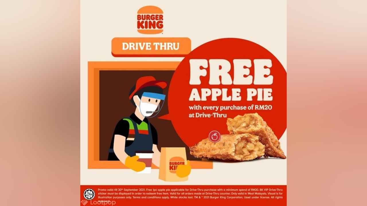Free Apple Pie at Burger King