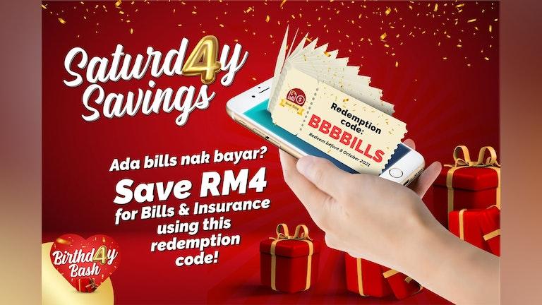Saturday Savings & Bill Discount with Boost Birthd4y Bash