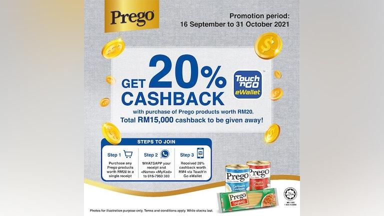 Prego Buy & Redeem Campaign