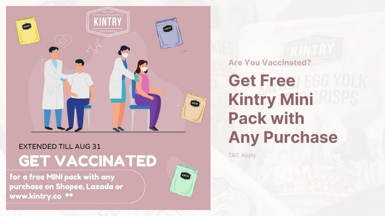 Get FREE Kintry Mini Snack Pack with Any Purchase