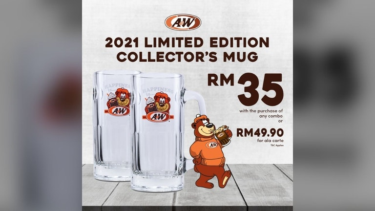 2021 A&W Limited Edition Collector's Mug