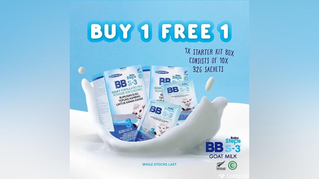 Buy 1 Free 1 Baby Steps BBs-3 Starter Kit