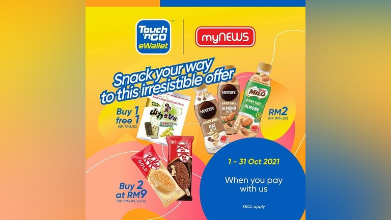 myNEWS x Touch 'n Go October 2021 Promotion