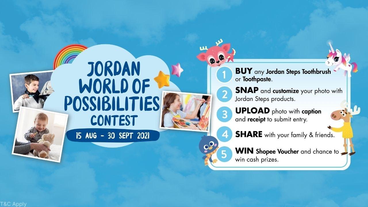 Jordan World of Possibilities Contest 2021