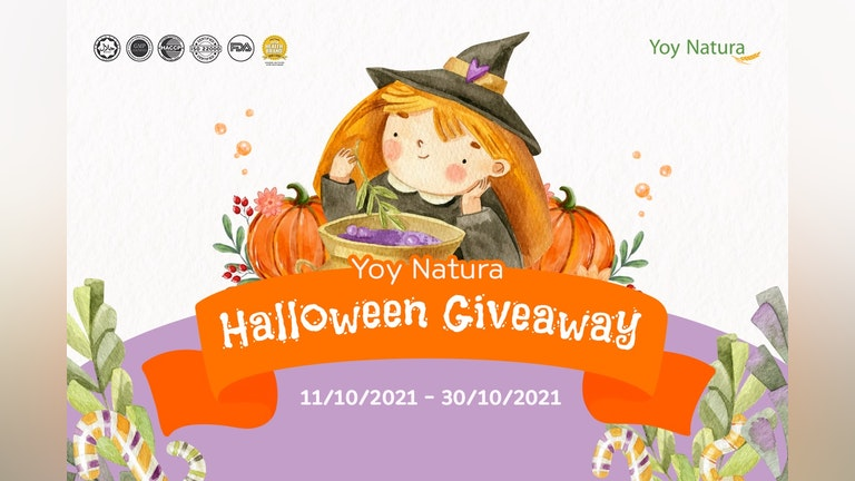 Count the Pumpkins & Win Yoy Natura Bundle