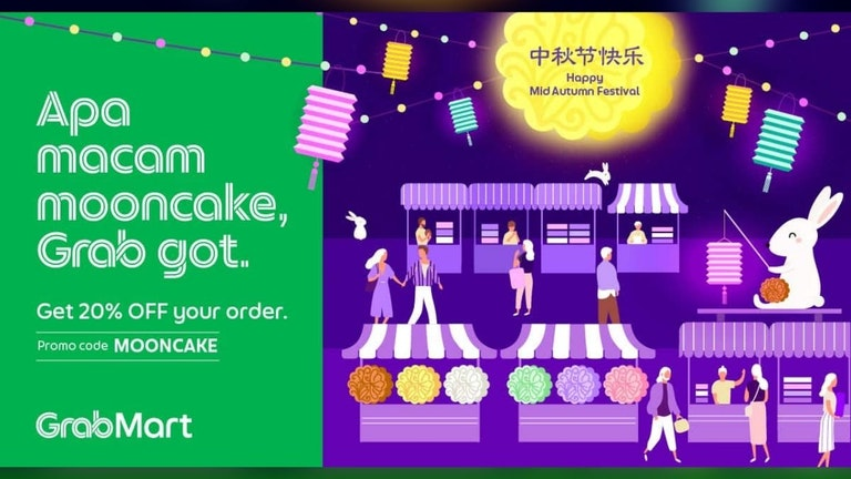 20% Off on Mooncakes at GrabMart