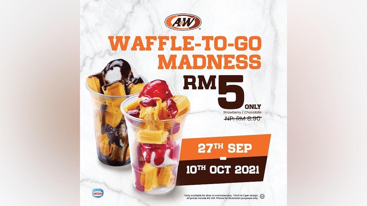 RM5 A&W Waffle-To-Go Madness