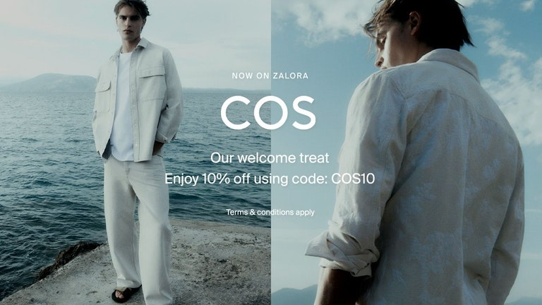 COS Opening Sale at ZALORA