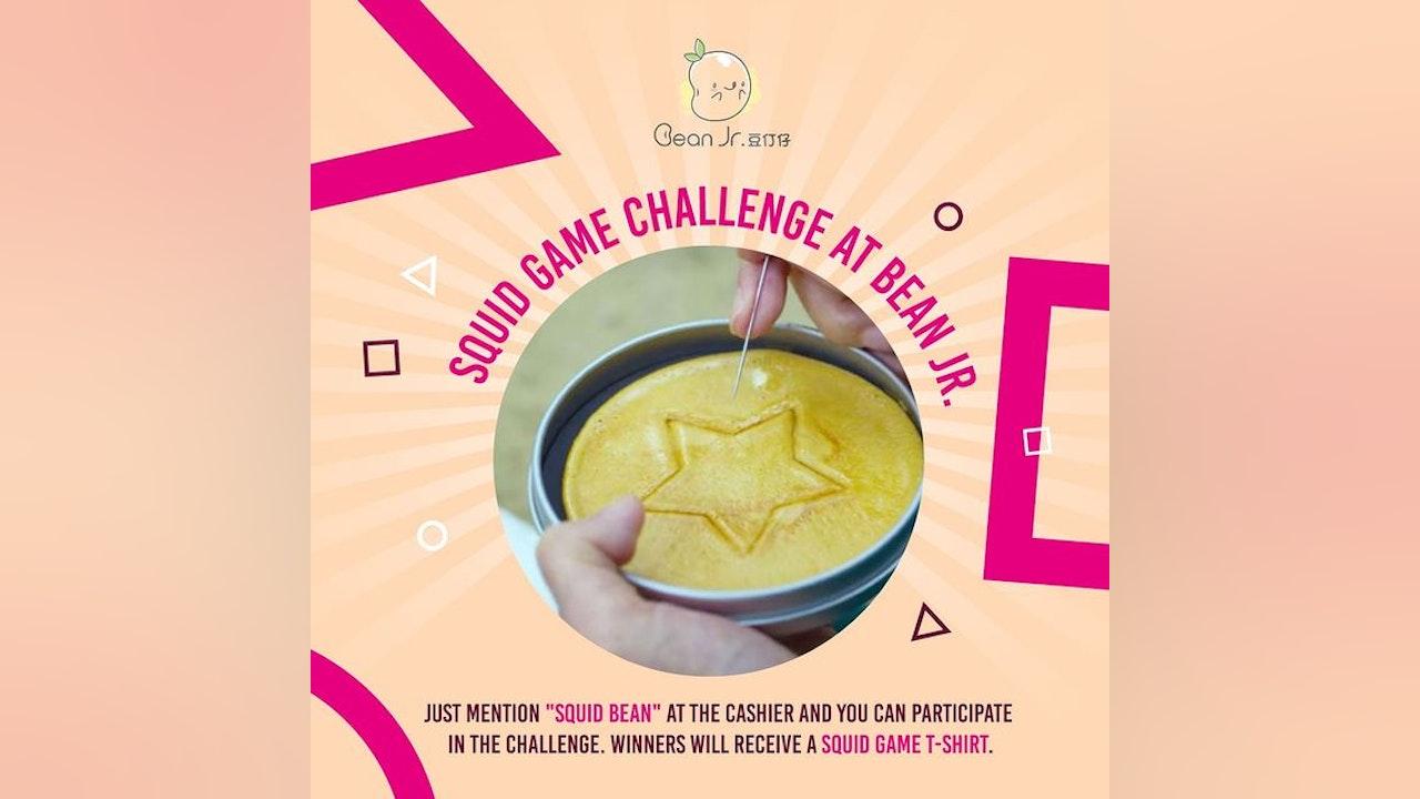 Squid Game Challenge at Bean Jr.