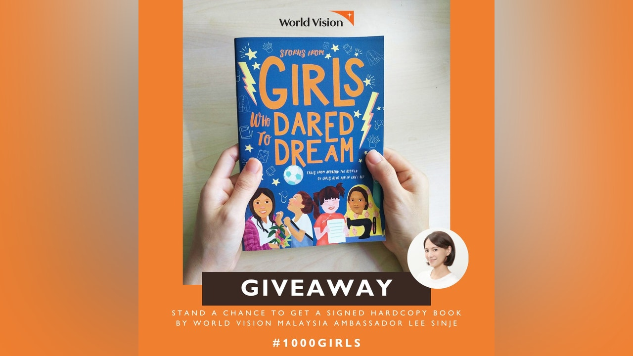 GIRLS WHO DARED TO DREAM e-Storybook Giveaway