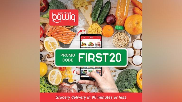 bawiq First Order Promo