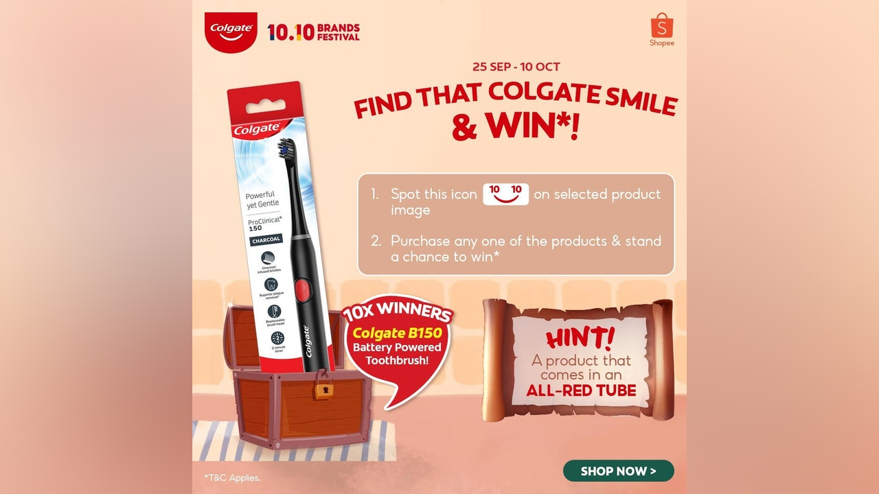 Find that Colgate Smile & Win Contest