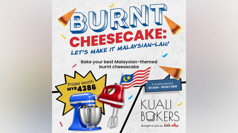 Burnt Cheesecake, Let's Make It Malaysian-lah Contest