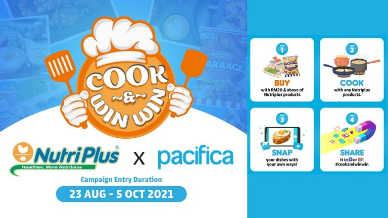 Cook & WinWin with Nutriplus and Pacifica