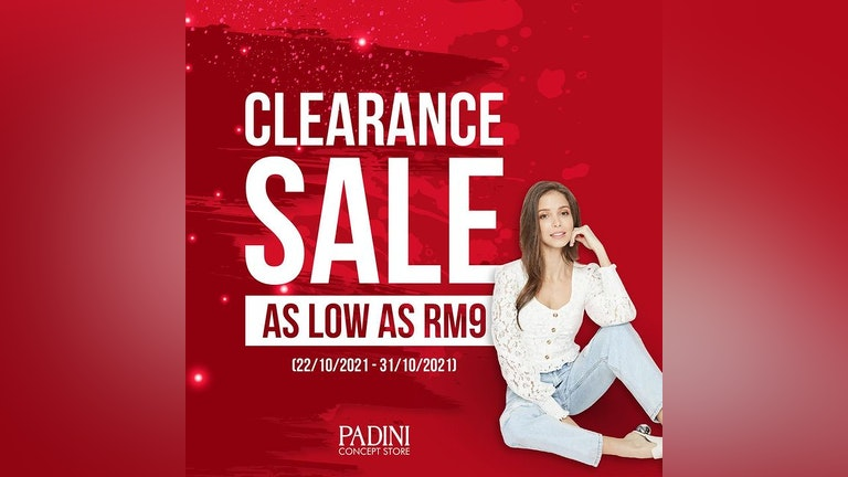 Padini Concept Store Clearance Sale