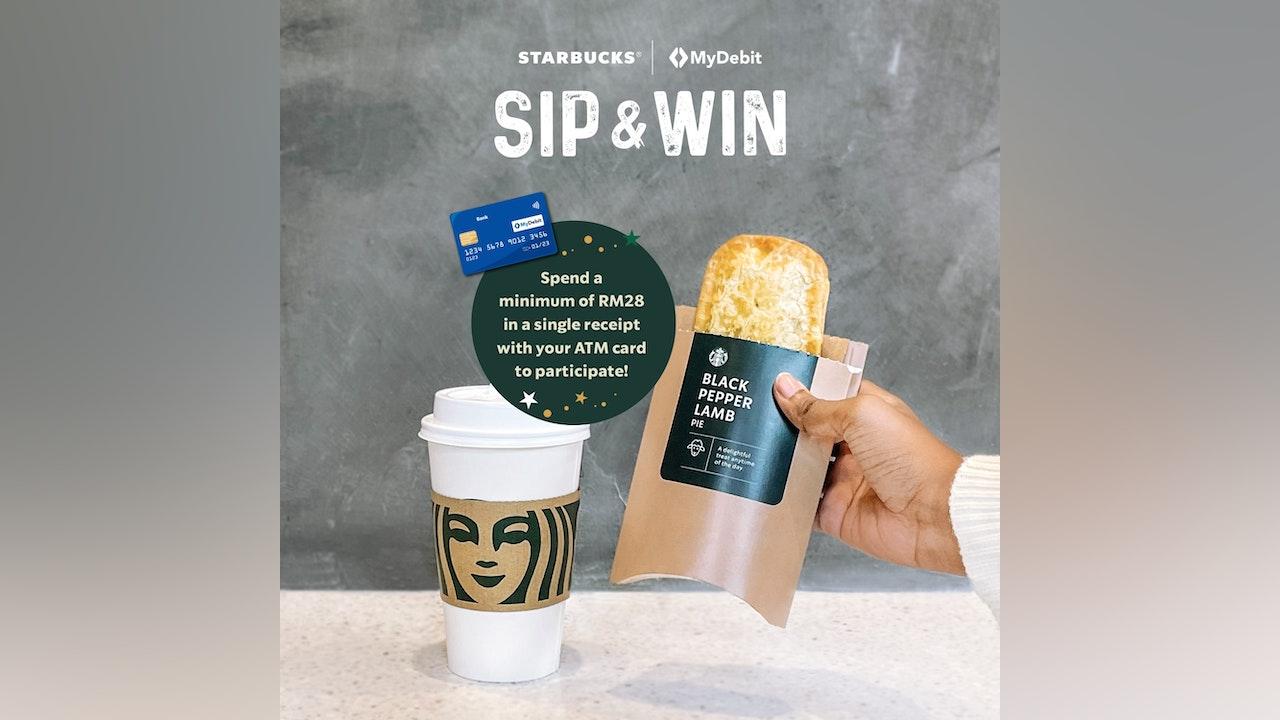 Starbucks Malaysia & MyDebit Sip & Win Contest