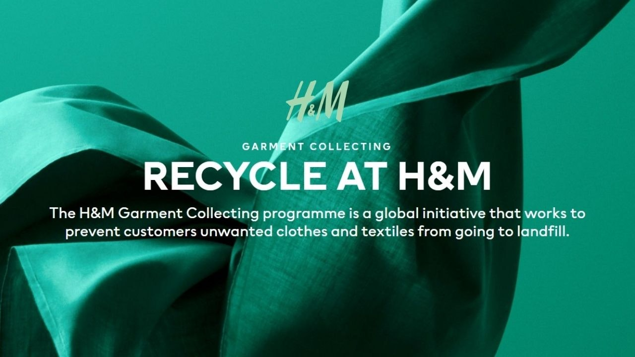 Clothing Recycle at H&M