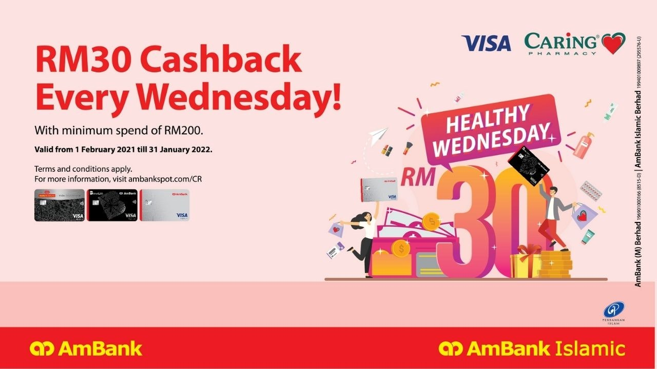 CARiNG Pharmacy's Weekly Wednesday Cashback
