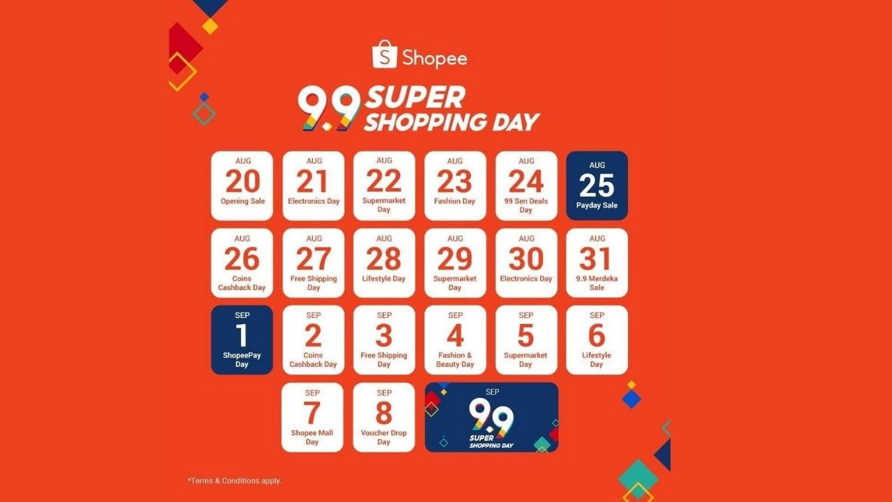 9.9 SUPER SHOPPING DAY IS HERE