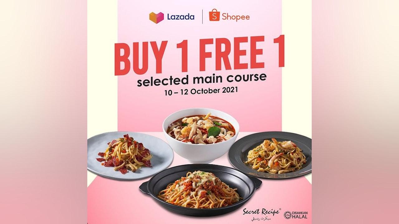Buy 1 Free 1 Secret Recipe Main Course