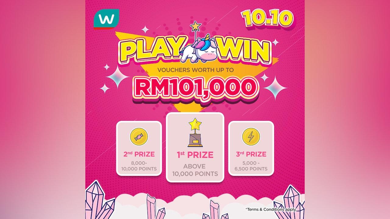 Watsons 10.10 Play & Win