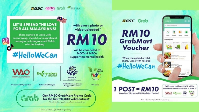 Hello We Can! Spread the Love for All Malaysians
