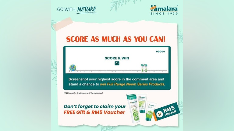 Himalaya Go With Nature: Score as Much as You Can Contest