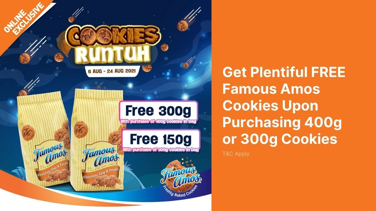 Famous Amos Cookie Runtuh 2021