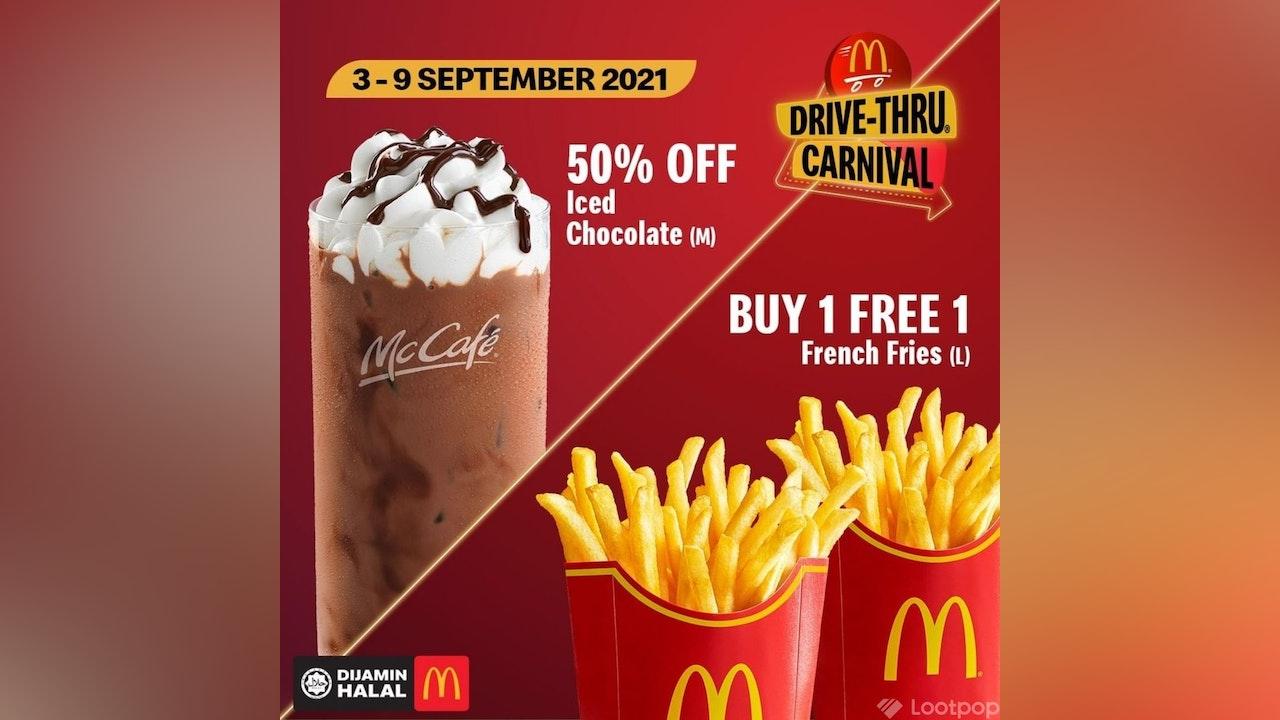 McDonald's Drive-Thru Carnival Weekly Deals: 3-9 September