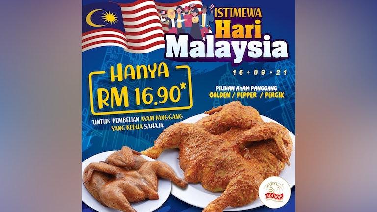 Kedai Ayamas Hari Malaysia Istimewa